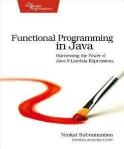 Okładka Functional Programming in Java